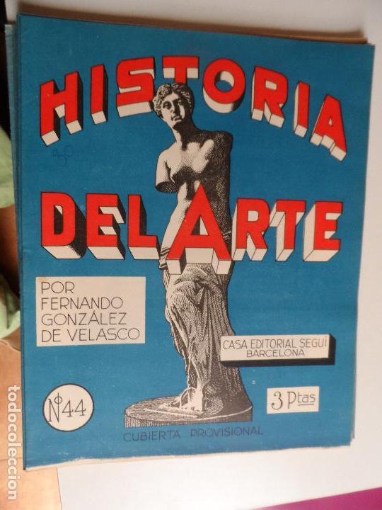 Arte: HISTORIA DEL ARTE CASA EDITORIAL SEGUI POR FERNANDO GONZALEZ VELASCO LOTE 43 REVISTAS - Foto 16 - 117872903
