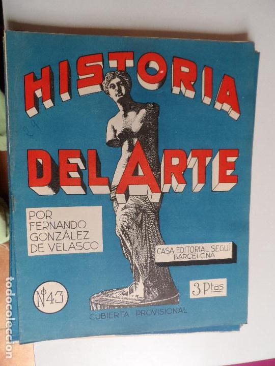 Arte: HISTORIA DEL ARTE CASA EDITORIAL SEGUI POR FERNANDO GONZALEZ VELASCO LOTE 43 REVISTAS - Foto 17 - 117872903