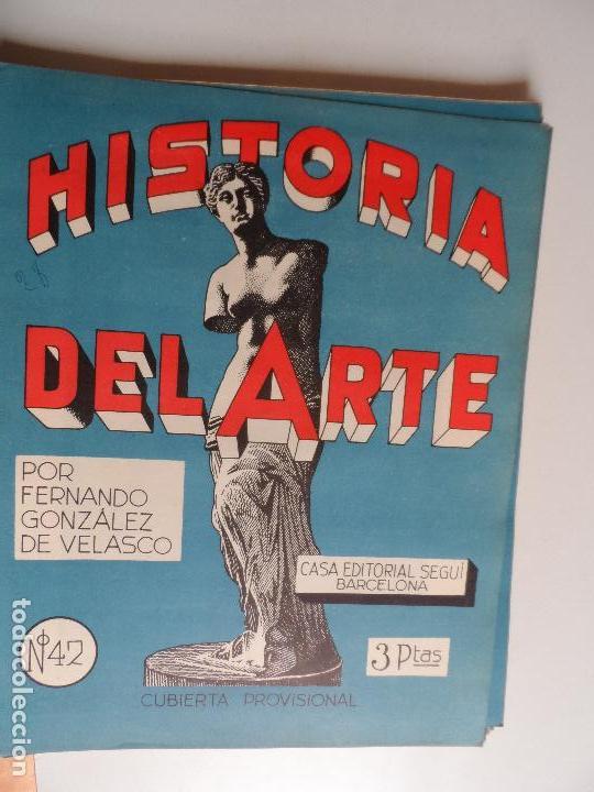 Arte: HISTORIA DEL ARTE CASA EDITORIAL SEGUI POR FERNANDO GONZALEZ VELASCO LOTE 43 REVISTAS - Foto 18 - 117872903