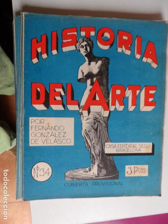 Arte: HISTORIA DEL ARTE CASA EDITORIAL SEGUI POR FERNANDO GONZALEZ VELASCO LOTE 43 REVISTAS - Foto 19 - 117872903