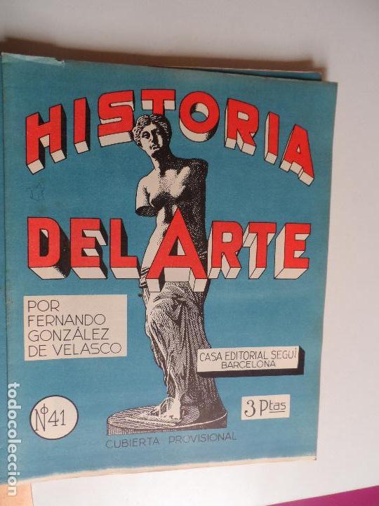 Arte: HISTORIA DEL ARTE CASA EDITORIAL SEGUI POR FERNANDO GONZALEZ VELASCO LOTE 43 REVISTAS - Foto 20 - 117872903