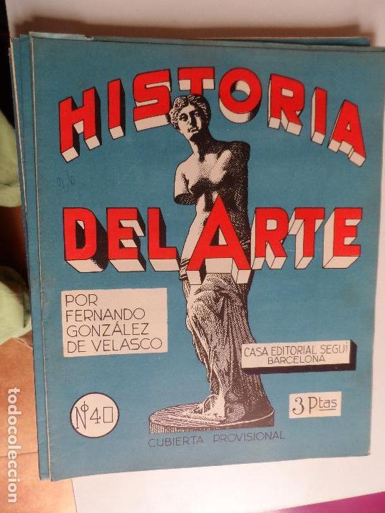 Arte: HISTORIA DEL ARTE CASA EDITORIAL SEGUI POR FERNANDO GONZALEZ VELASCO LOTE 43 REVISTAS - Foto 21 - 117872903