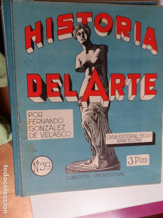Arte: HISTORIA DEL ARTE CASA EDITORIAL SEGUI POR FERNANDO GONZALEZ VELASCO LOTE 43 REVISTAS - Foto 22 - 117872903