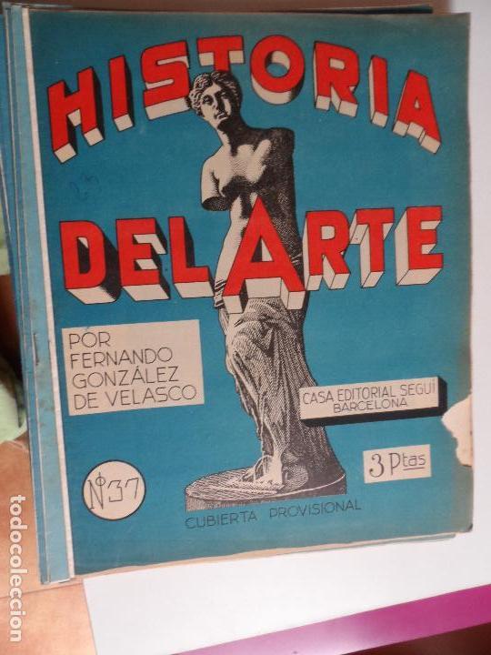 Arte: HISTORIA DEL ARTE CASA EDITORIAL SEGUI POR FERNANDO GONZALEZ VELASCO LOTE 43 REVISTAS - Foto 23 - 117872903