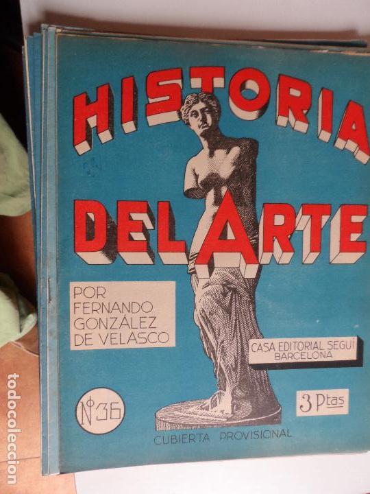 Arte: HISTORIA DEL ARTE CASA EDITORIAL SEGUI POR FERNANDO GONZALEZ VELASCO LOTE 43 REVISTAS - Foto 24 - 117872903