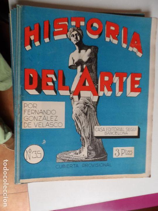 Arte: HISTORIA DEL ARTE CASA EDITORIAL SEGUI POR FERNANDO GONZALEZ VELASCO LOTE 43 REVISTAS - Foto 25 - 117872903