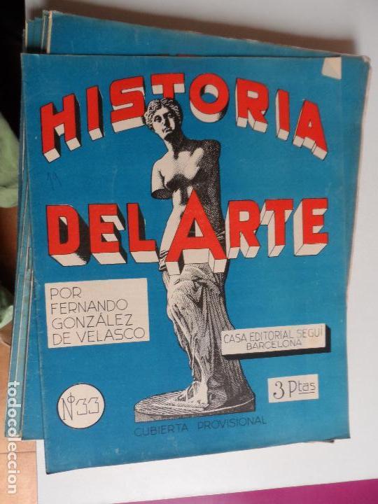 Arte: HISTORIA DEL ARTE CASA EDITORIAL SEGUI POR FERNANDO GONZALEZ VELASCO LOTE 43 REVISTAS - Foto 26 - 117872903