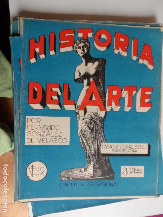 Arte: HISTORIA DEL ARTE CASA EDITORIAL SEGUI POR FERNANDO GONZALEZ VELASCO LOTE 43 REVISTAS - Foto 27 - 117872903