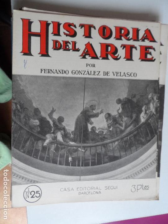 Arte: HISTORIA DEL ARTE CASA EDITORIAL SEGUI POR FERNANDO GONZALEZ VELASCO LOTE 43 REVISTAS - Foto 28 - 117872903