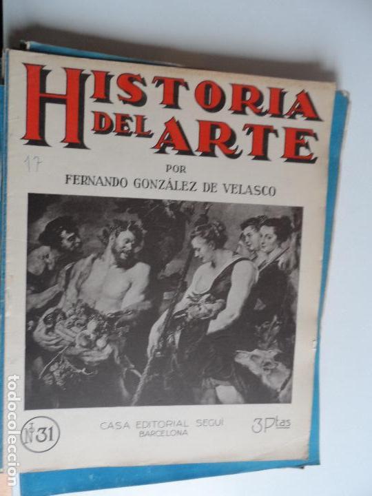 Arte: HISTORIA DEL ARTE CASA EDITORIAL SEGUI POR FERNANDO GONZALEZ VELASCO LOTE 43 REVISTAS - Foto 29 - 117872903