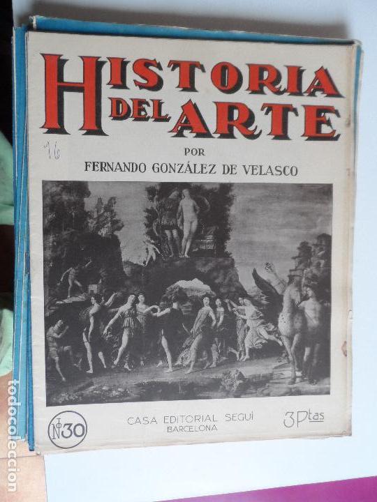 Arte: HISTORIA DEL ARTE CASA EDITORIAL SEGUI POR FERNANDO GONZALEZ VELASCO LOTE 43 REVISTAS - Foto 30 - 117872903