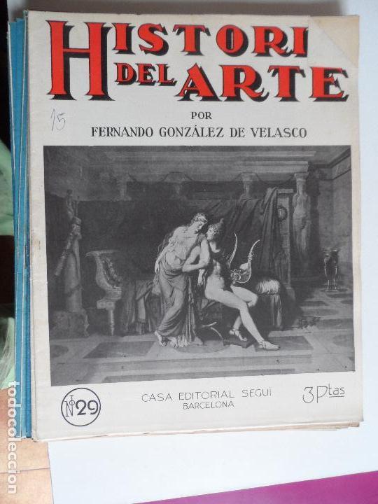 Arte: HISTORIA DEL ARTE CASA EDITORIAL SEGUI POR FERNANDO GONZALEZ VELASCO LOTE 43 REVISTAS - Foto 31 - 117872903
