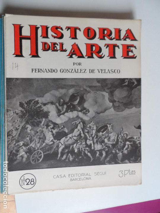 Arte: HISTORIA DEL ARTE CASA EDITORIAL SEGUI POR FERNANDO GONZALEZ VELASCO LOTE 43 REVISTAS - Foto 32 - 117872903