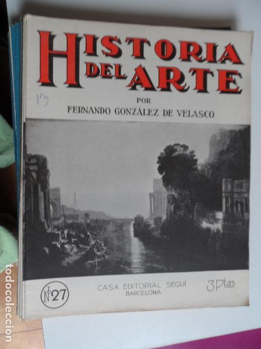 Arte: HISTORIA DEL ARTE CASA EDITORIAL SEGUI POR FERNANDO GONZALEZ VELASCO LOTE 43 REVISTAS - Foto 33 - 117872903