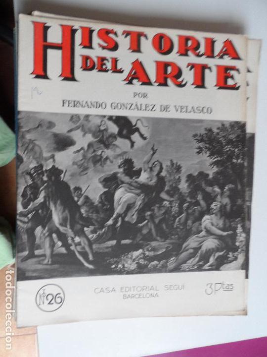 Arte: HISTORIA DEL ARTE CASA EDITORIAL SEGUI POR FERNANDO GONZALEZ VELASCO LOTE 43 REVISTAS - Foto 34 - 117872903