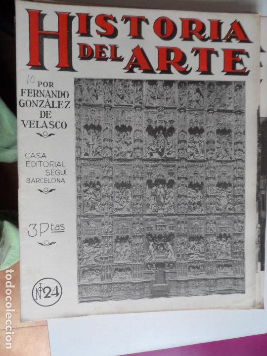 Arte: HISTORIA DEL ARTE CASA EDITORIAL SEGUI POR FERNANDO GONZALEZ VELASCO LOTE 43 REVISTAS - Foto 35 - 117872903