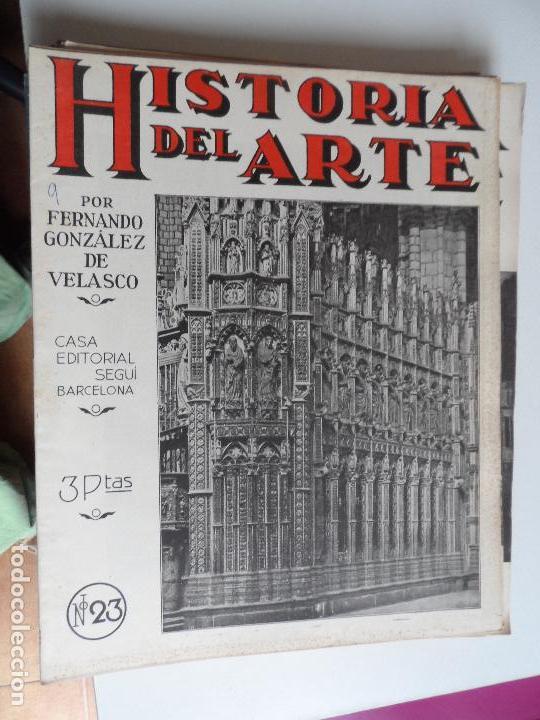 Arte: HISTORIA DEL ARTE CASA EDITORIAL SEGUI POR FERNANDO GONZALEZ VELASCO LOTE 43 REVISTAS - Foto 36 - 117872903