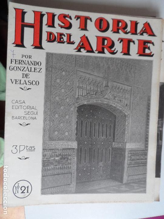 Arte: HISTORIA DEL ARTE CASA EDITORIAL SEGUI POR FERNANDO GONZALEZ VELASCO LOTE 43 REVISTAS - Foto 38 - 117872903