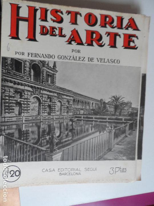 Arte: HISTORIA DEL ARTE CASA EDITORIAL SEGUI POR FERNANDO GONZALEZ VELASCO LOTE 43 REVISTAS - Foto 39 - 117872903