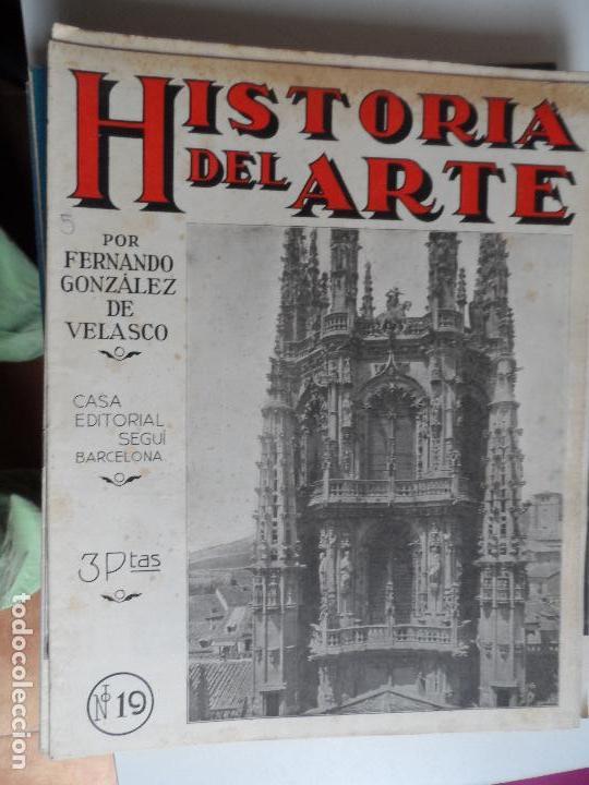 Arte: HISTORIA DEL ARTE CASA EDITORIAL SEGUI POR FERNANDO GONZALEZ VELASCO LOTE 43 REVISTAS - Foto 40 - 117872903
