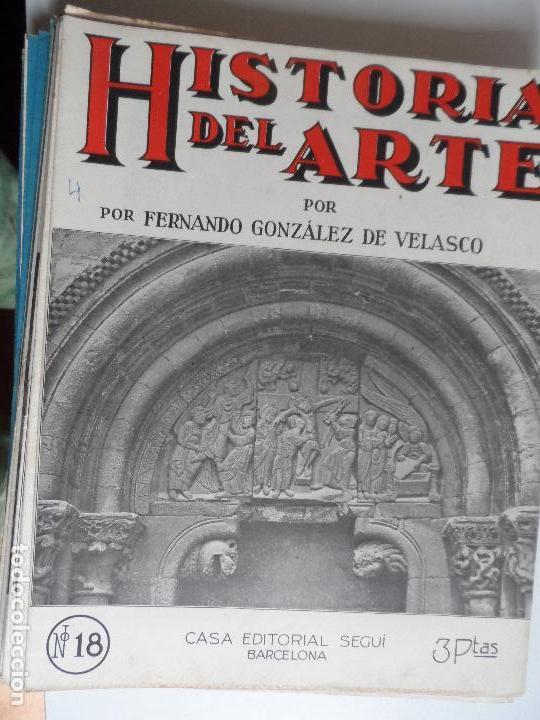 Arte: HISTORIA DEL ARTE CASA EDITORIAL SEGUI POR FERNANDO GONZALEZ VELASCO LOTE 43 REVISTAS - Foto 41 - 117872903
