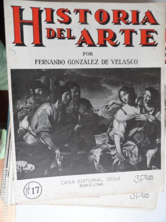 Arte: HISTORIA DEL ARTE CASA EDITORIAL SEGUI POR FERNANDO GONZALEZ VELASCO LOTE 43 REVISTAS - Foto 42 - 117872903
