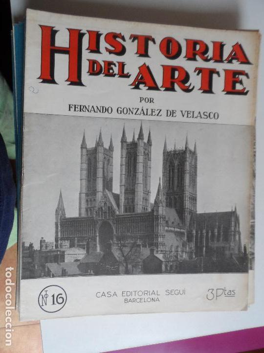 Arte: HISTORIA DEL ARTE CASA EDITORIAL SEGUI POR FERNANDO GONZALEZ VELASCO LOTE 43 REVISTAS - Foto 43 - 117872903