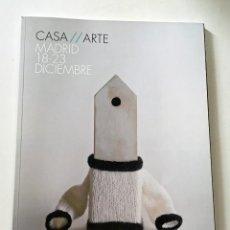 Arte: REVISTA CASA//ARTE. I FERIA INICIACIÓN AL COLECCIONISMO DE ARTE. Lote 130933980