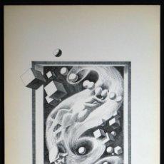 Arte: PERELLÓN, CELEDONIO. LITOGRAFÍA DE LA SERIE MUNDO, DEMONIO Y CARNE. FINALES AÑOS 70 . FIRMADA. Lote 138058482