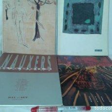 Arte: 4 EJEMPLARES DE GALERIA D´ART DAU AL SET. Lote 153493918
