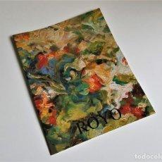 Arte: ROYO PROGRAMA DE EXPOSICION GALERIAS AUGUSTA 1995 - 27. X 21.CM. Lote 218393928