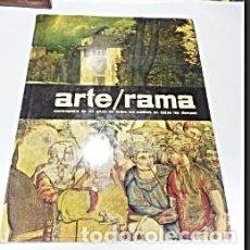 Arte: 22 FASCICULOS DE ARTE RAMA. 1963. CODEX ARGENTINA.. Lote 169073668