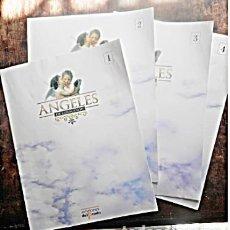 Arte: 4 FASCICULADOS DE ÁNGELES, EDICIONES EL PRADO. AÑO 2003, DE NANCY GRUBB. Lote 169091004