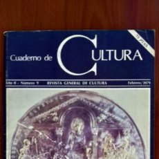 Arte: CUADERNO DE CULTURA Nº9 1979. Lote 171028173