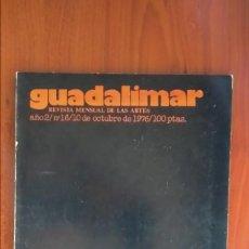 Arte: GUADALIMAR Nº16 1976. Lote 171029824