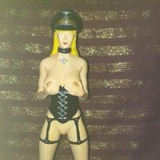 Arte: FIGURA PARA ADULTOS SOBRE PEANA - *DOLL BDSM* - SEMIARTESANAL ... NUEVA.. Lote 190979463