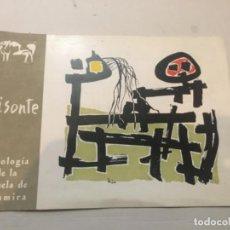 Arte: (M) VANGUARDIAS BISONTE ( ANTOLOGÍA DE LA ESCUELA DE ALTAMIRA) DIR. ÁNGEL FERRANT- CONSEJO DE REDACI. Lote 197612622
