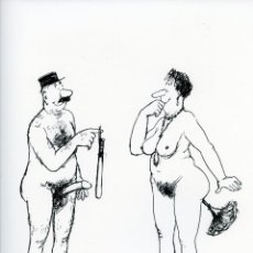 Arte: ROGER TESTU: LES BELLES MANIERES. LITOGRAFÍA SUELTA DE LA EDICIÓN ORIGINAL. 1960. Lote 205003197