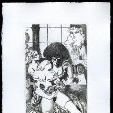 Arte: RAMÓN RAMÍREZ. JUEGOS ERÓTICOS. AGUAFUERTE PARA EMILIA DE EL MARQUÉS DE SADE. Lote 205702730