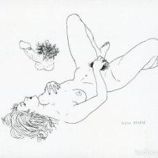 Arte: ARTE ERÓTICO. MARIO TAUZIN (1909 - 1979). LITOGRAFIA ORIGINAL. FIRMADA. Lote 205732198