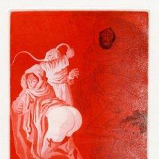 Arte: PERELLÓN, CELEDONIO. GAMIANI. AGUAFUERTE ORIGINAL. EROTISMO. DE LA COLECCIÓN GAMIANI. Lote 205828217
