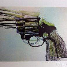Arte: ENVÍO 6€ POSTAL DE ANDY WARHOL DE 20X14.5CM DE EXPOSICIÓN EN LA GALERÍA FERNANDO VIJANDE EN 1982. Lote 230436075