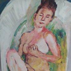 Arte: MASTURBACIÓN (ORIGINAL). Lote 234526040