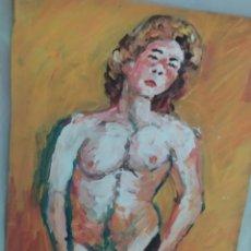 Arte: CHICO MODELO (ORIGINAL). Lote 234536735