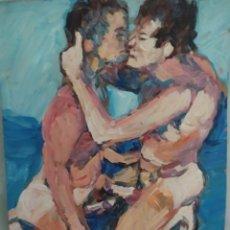 Arte: ENTRE PELOTAS (ORIGINAL). Lote 234539880