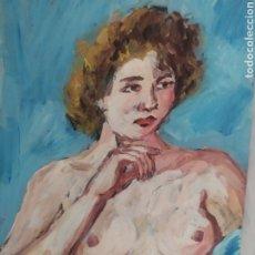 Arte: PENSATIVA (ORIGINAL). Lote 234586450