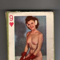 Barajas: (M) BARAJA DE POKER EROTICA PIN-UPS , LUCKY CHIPS PLAYING CARDS ( COMPLETA ). Lote 31166627