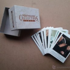 Barajas: PENTHOUSE COLLECTORS SERIES CARDS 100 CHICAS SEXY AÑO 1992. Lote 55010423