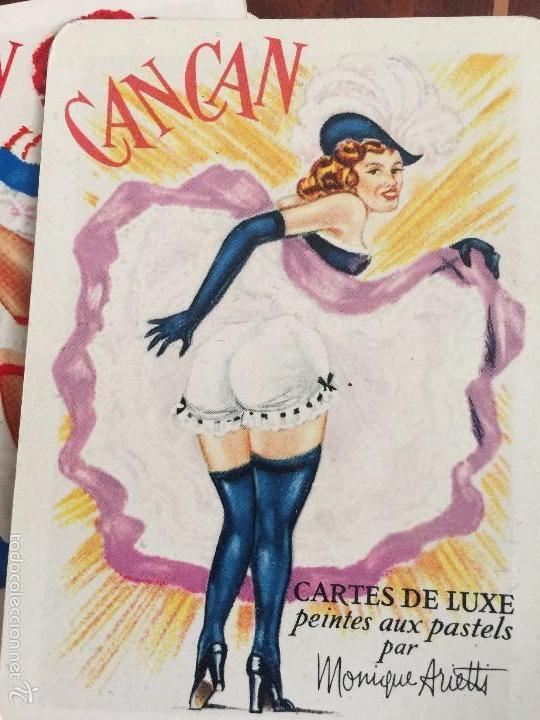 CARTES DE LUXE PEINTES AUX PASTELS PAR MONIQUE ARIETTE (Coleccionismo para Adultos - Barajas)