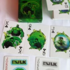 Barajas: HULK PLAYING CARDS COMPLETA . Lote 88954512